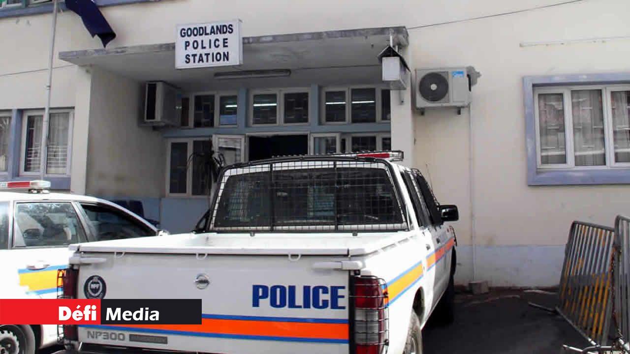 Le poste de police de Goodlands.