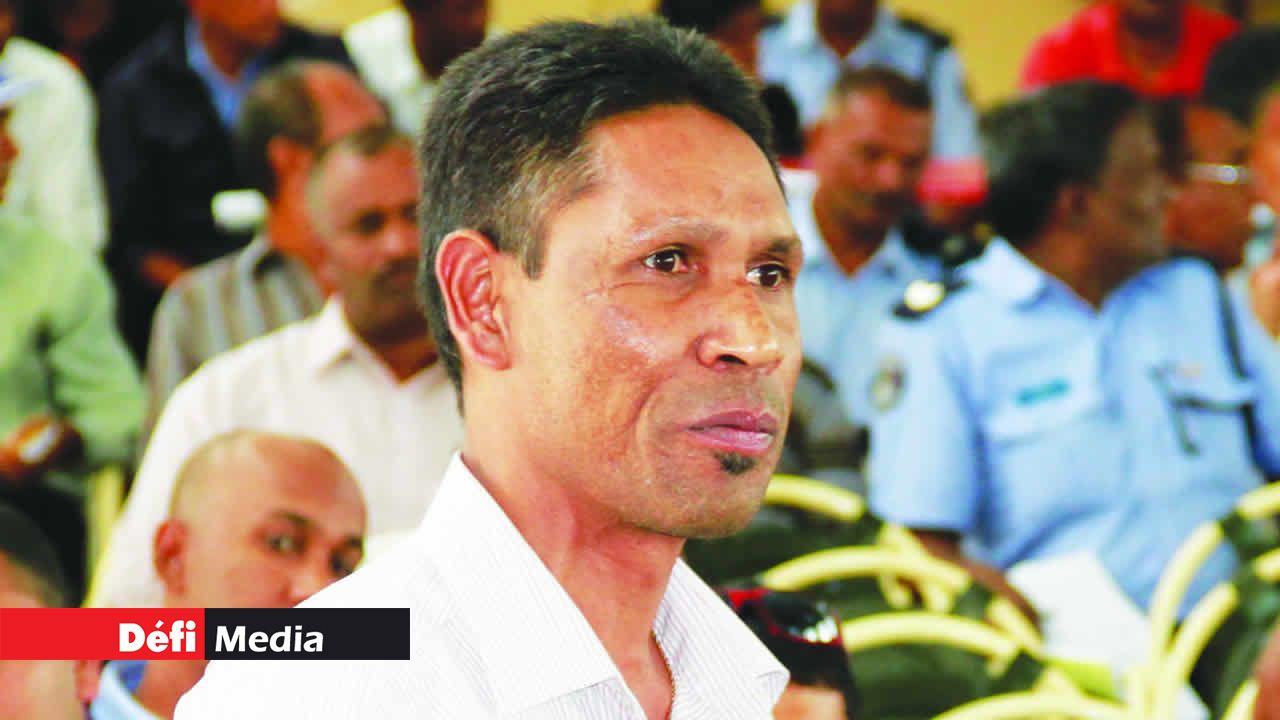 L'inspecteur Jaylall Boojhawon, président de la Police Officers Solidarity Union