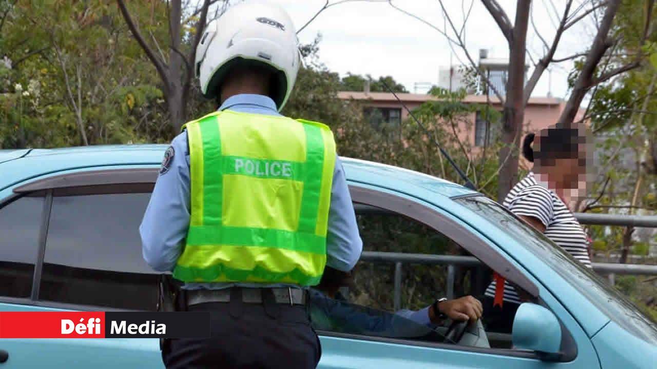 Code de la route et Fixed penalty
