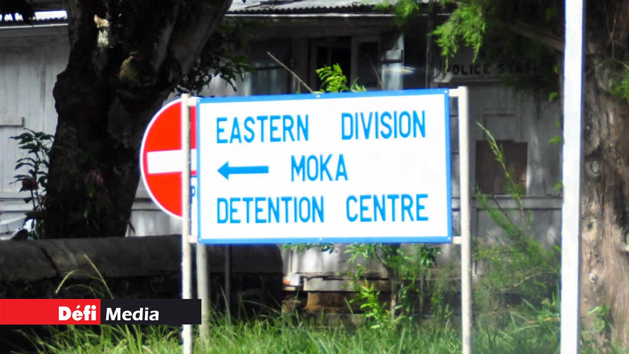 centre de détention de Moka
