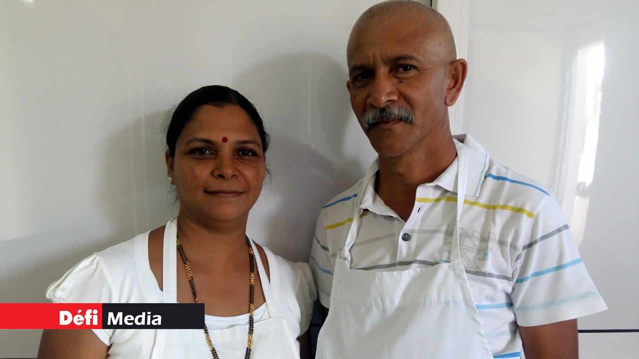 Samila et Vidianand Arjoon.