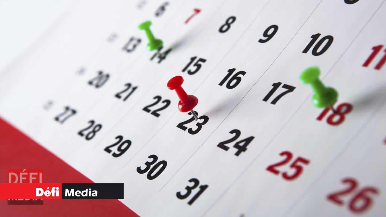14ae64406bf Le Conseil des ministres a pris note ce vendredi 25 mai de la liste des  congés publics pour l année 2019. Un seul jour férié tombe un dimanche   il  s agit ...