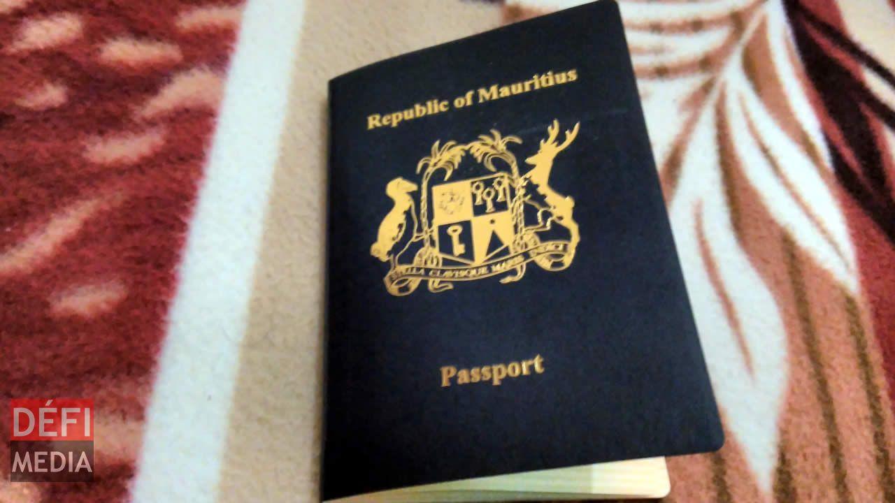 Passport mauricien