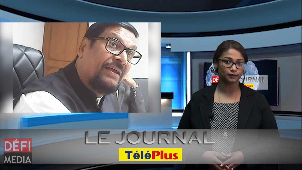 Le Journal Téléplus - Propos racistes de Showkutally Soodhun, Téléplus diffuse la vidéo