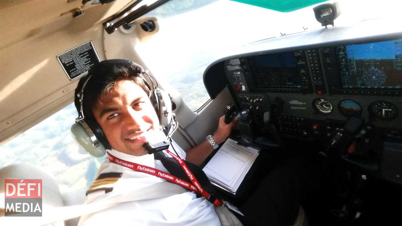 Lovishen Ramsamy: First Mauritian Cadet Pilot of Emirates Aviation