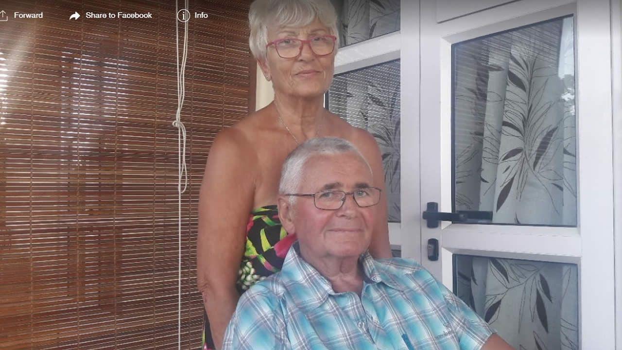 Le couple Monloup est un habitué de l'île Maurice.