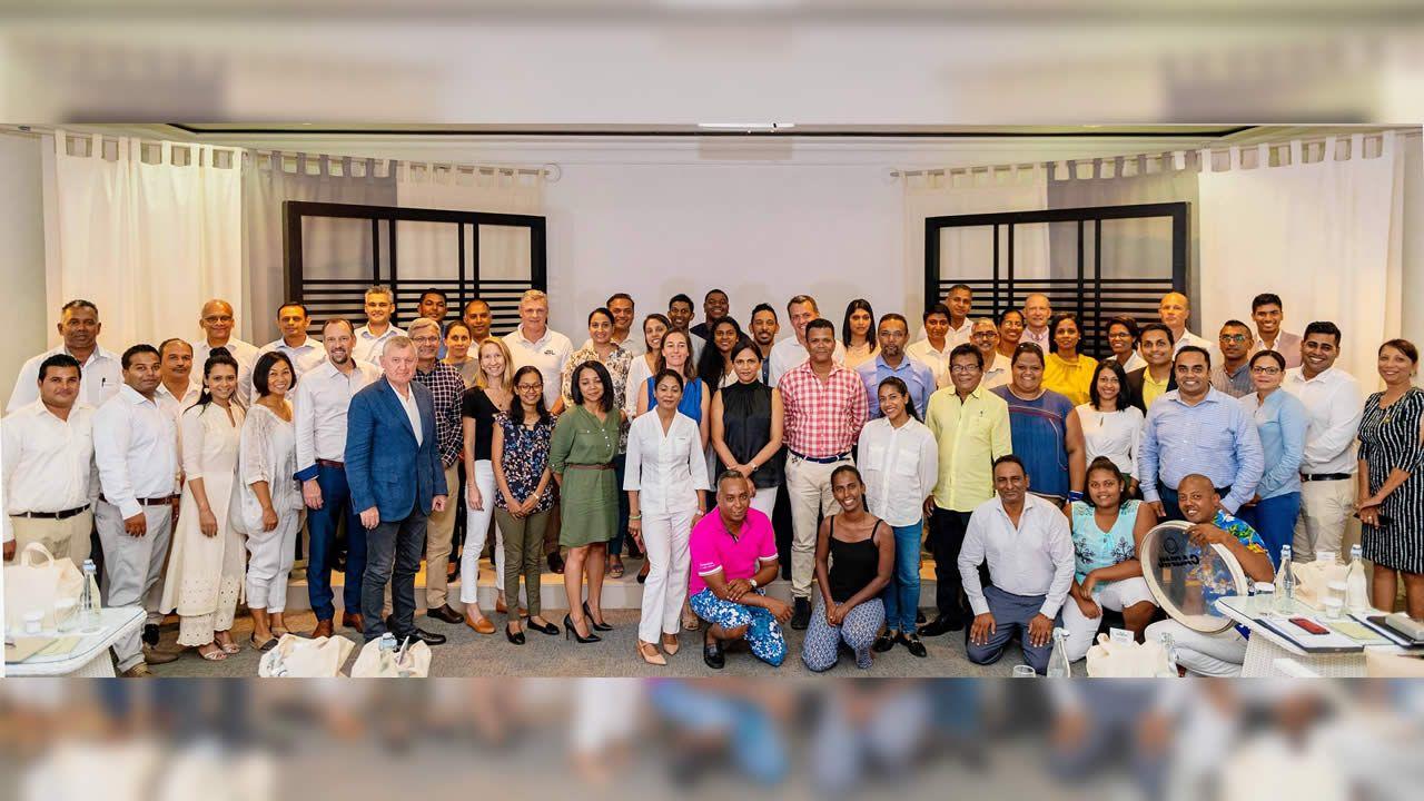Les participants à la 6e édition de Lux Collective Innovation Challenge 2019.