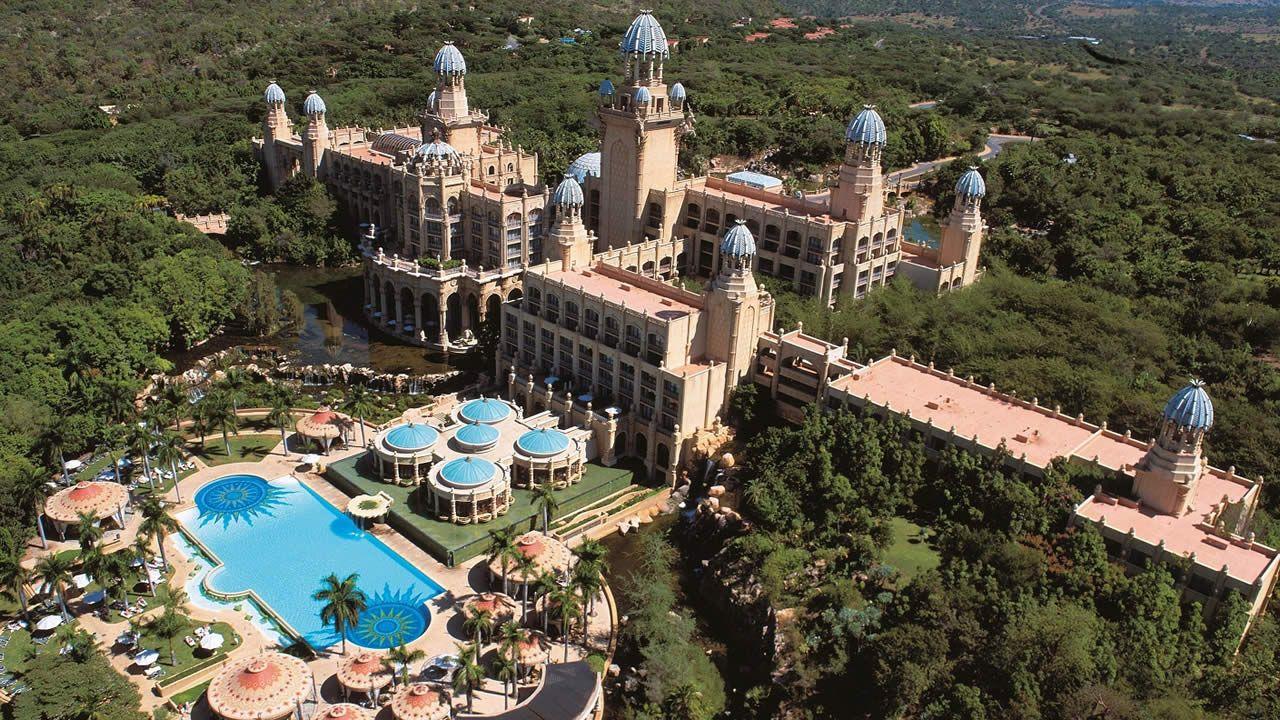 Sun City, une des principales attractions de l'Afrique du Sud.