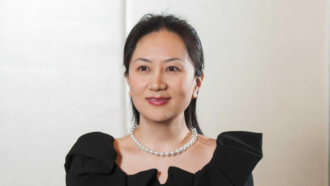 Meng Wanzhou, la fille du fondateur de Huawei.