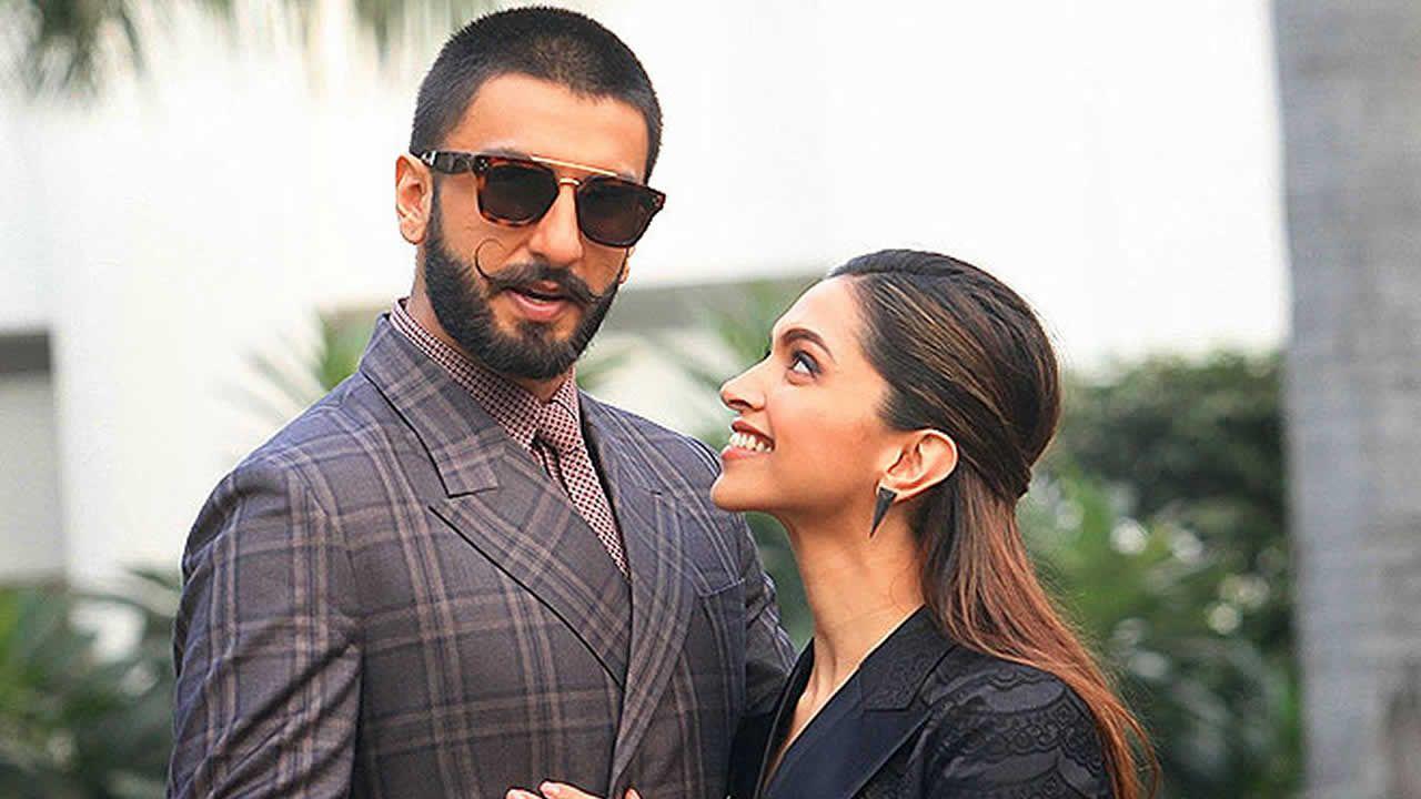 Ranveer Singh et Deepika Padukone