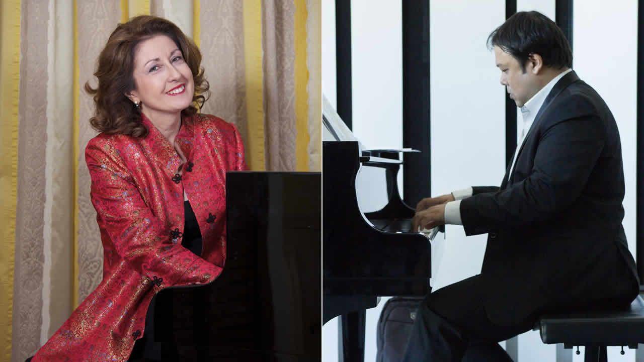 Marie-Martine Bollmann et Kenneth Babajie