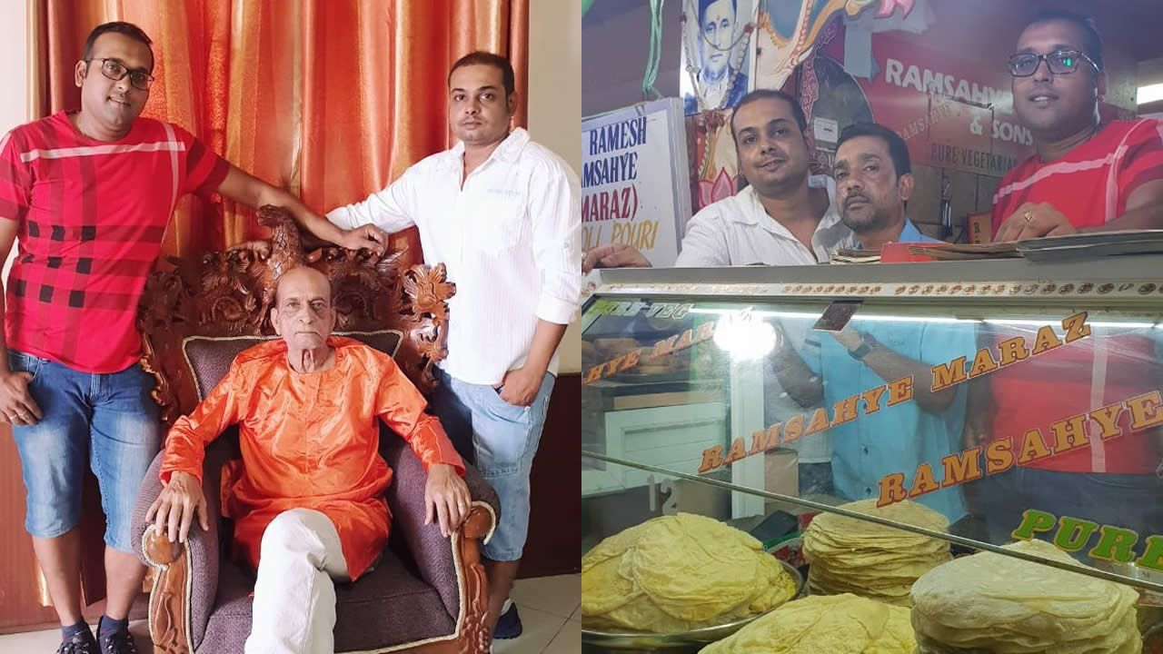 Ramesh Ramsahye Maraz : the brains behind the family business of the Original 'Dholl Puri'