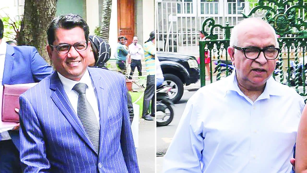 Rajesh Jeetah et Dr Krishan Malhotra