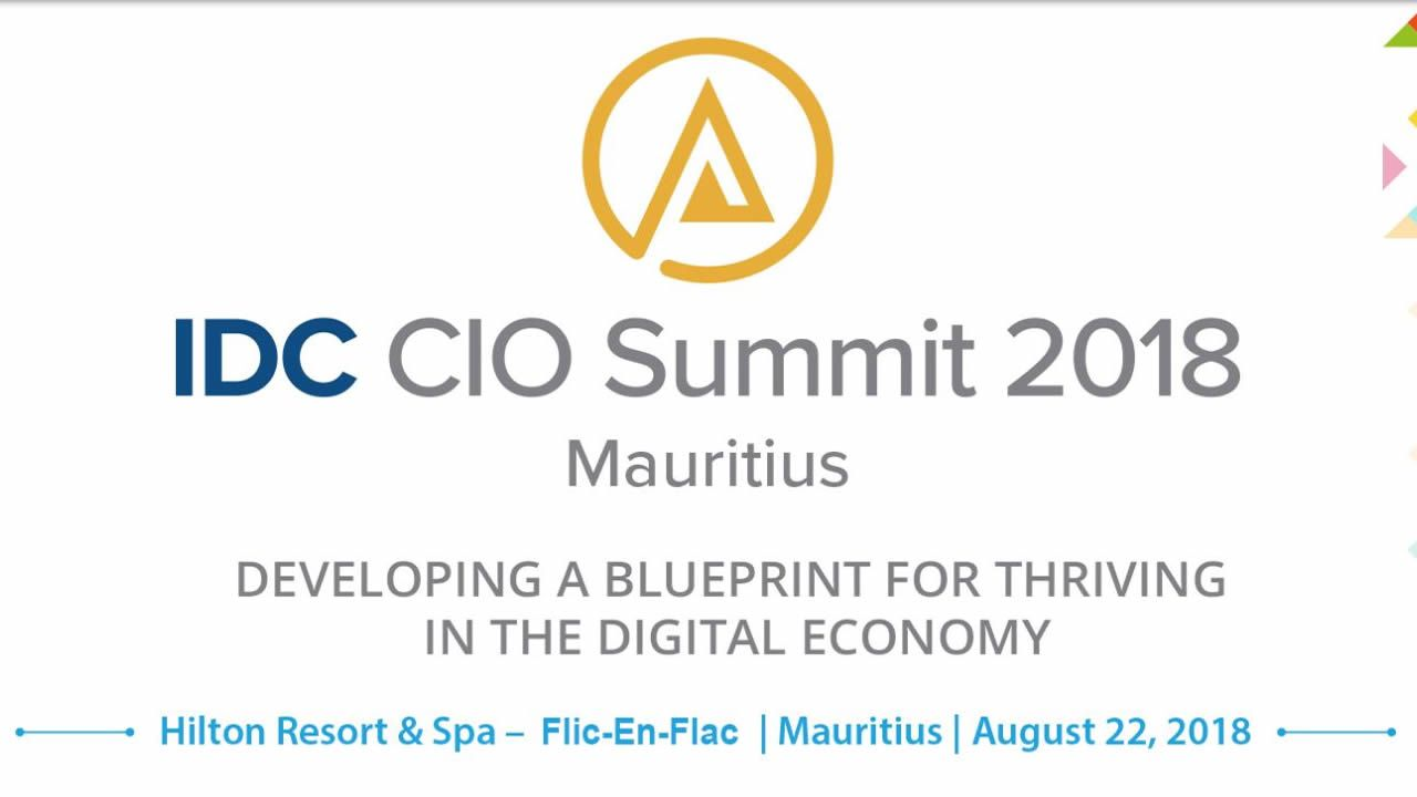 idc cio summit 2018