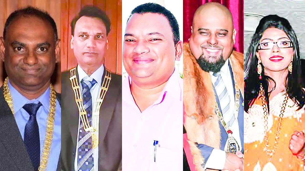 Maires et adjoints maires