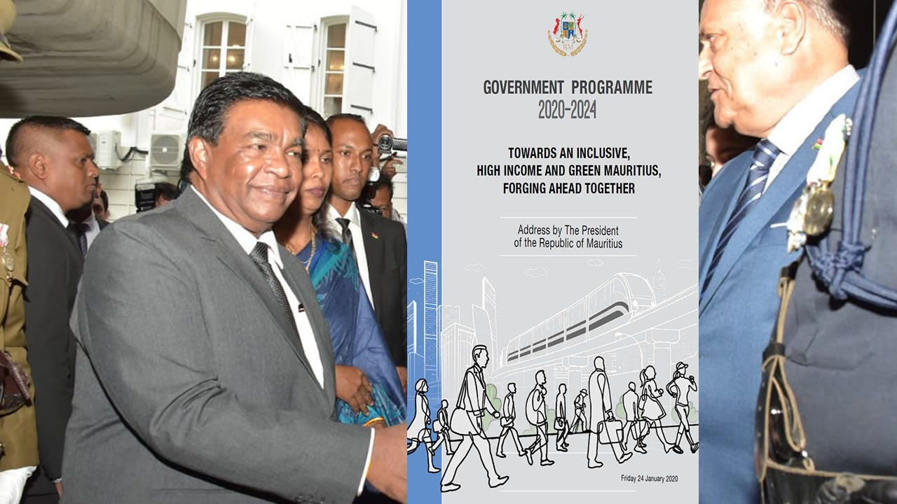 Discours-programme 2020-2024