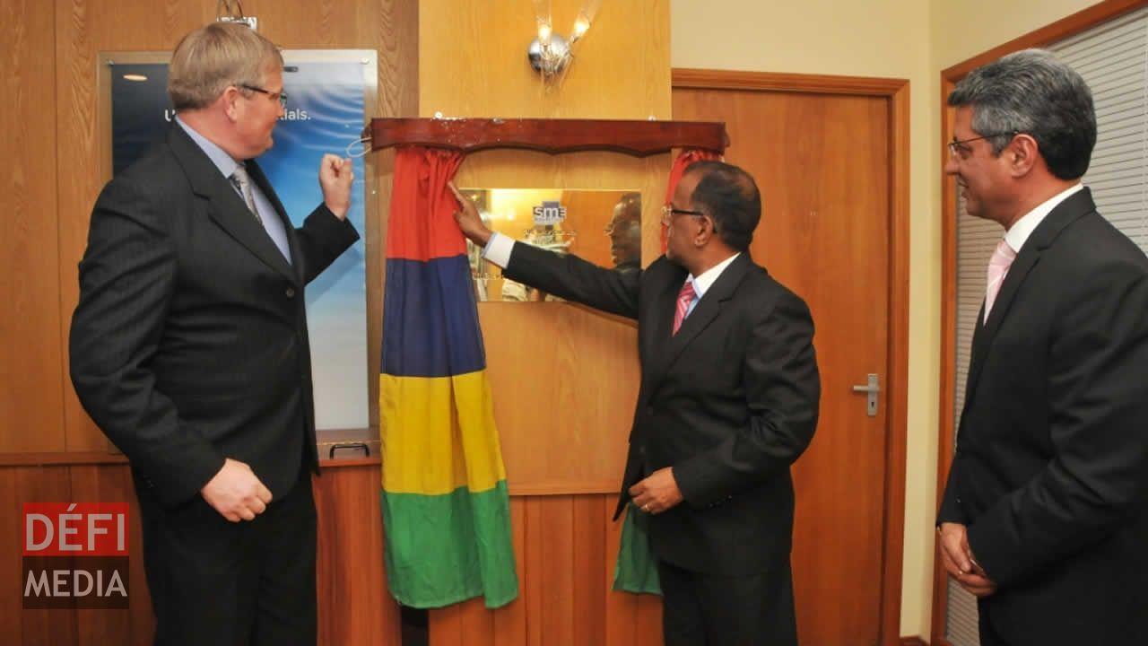 Inauguration de SME Mauritius Ltd