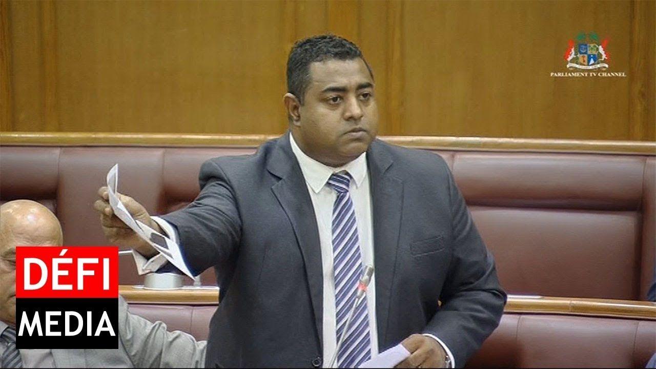 Patrick Armance, député bleu de la circonscription numéro 1.
