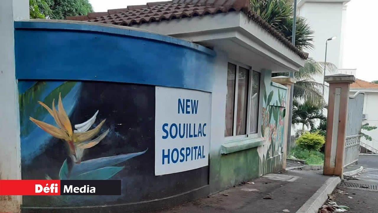 Ceux testés positifs au Covid-19 reçoivent des soins à l'hôpital de Souillac.