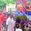 Nomination day -  Circonscription No 20 : de nombreux défilés dans  une ambiance bon enfant