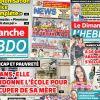Voici la Une de Le Dimanche/L'Hebdo de ce dimanche 27 Septembre 2020