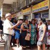 Fermeture de l'usine Future Textiles : rassemblement des ex-employés devant le ministère du Travail