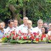 34e anniversaire de la mort de SSR : Ramgoolam et Duval participent à une cérémonie de dépôt de gerbes ; Boolell absent