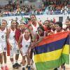 JIOI - Basketball : l'équipe féminine célèbre sa victoire contre les Comores