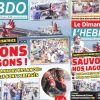Voici la Une de Le Dimanche/L'Hebdo de ce dimanche 09 aout 2020