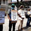 Manif des membres du syndicat du port : le départ de la direction de la MPA réclamée