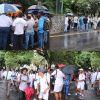 [En images] Transfert de Lindsay Thomas: «protestation pacifique» des membres du Collège du St Esprit  Old Boys Association