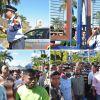 [En images] Des employés de Pad & Co Ltd manifestent à Riche-Terre
