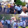 Résidence-Vallijee : grosse mobilisation policière et foule de curieux après la découverte d'un cadavre dans un congélateur