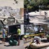 Blue-Bay : volontaires et autorités s'activent pour stopper la progression du mazout