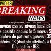 Covid-19 : un nouveau cas détecté sur une habitante de Roche-Bois, patiente à l'unité de radiothérapie de l'hôpital Victoria
