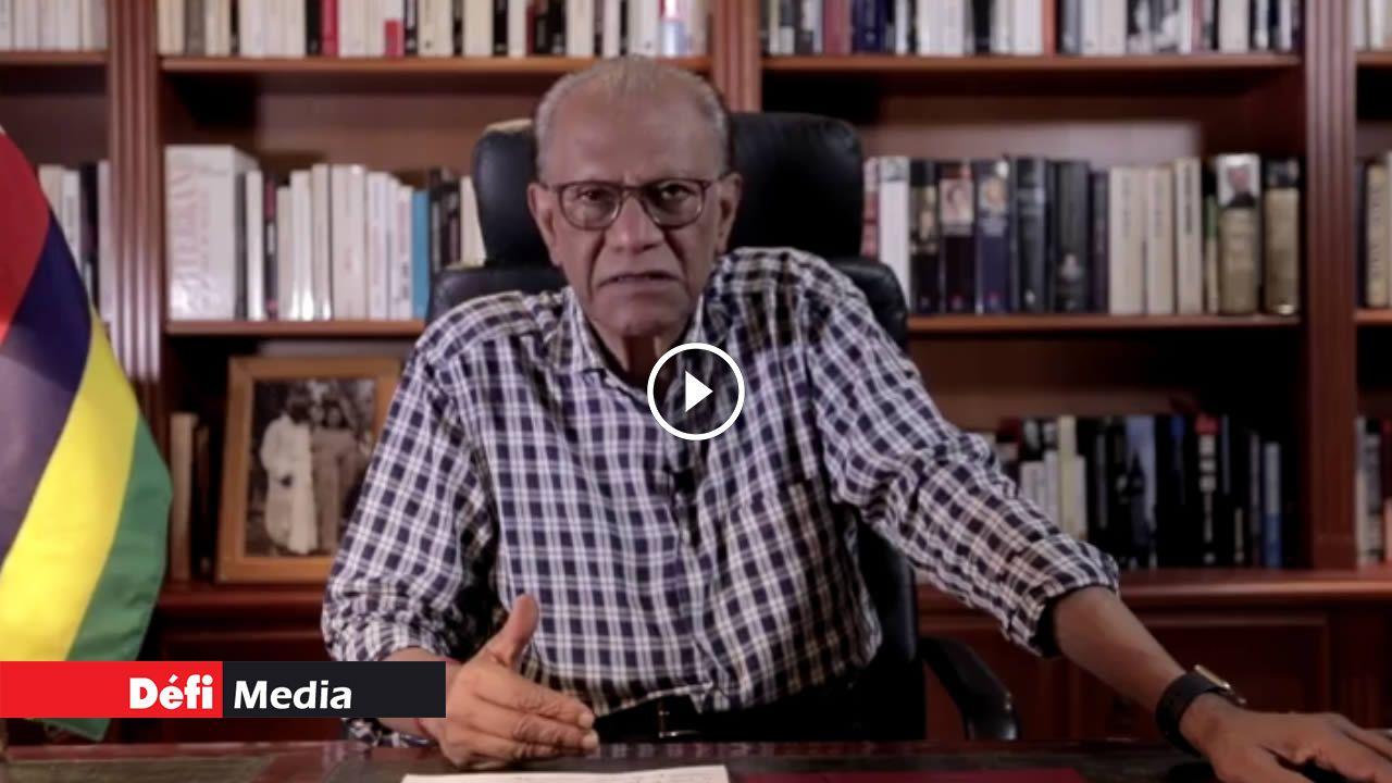 [Video] Décès liés à la Covid-19 : le GM «cache la vérité à la population», selon Ramgoolam