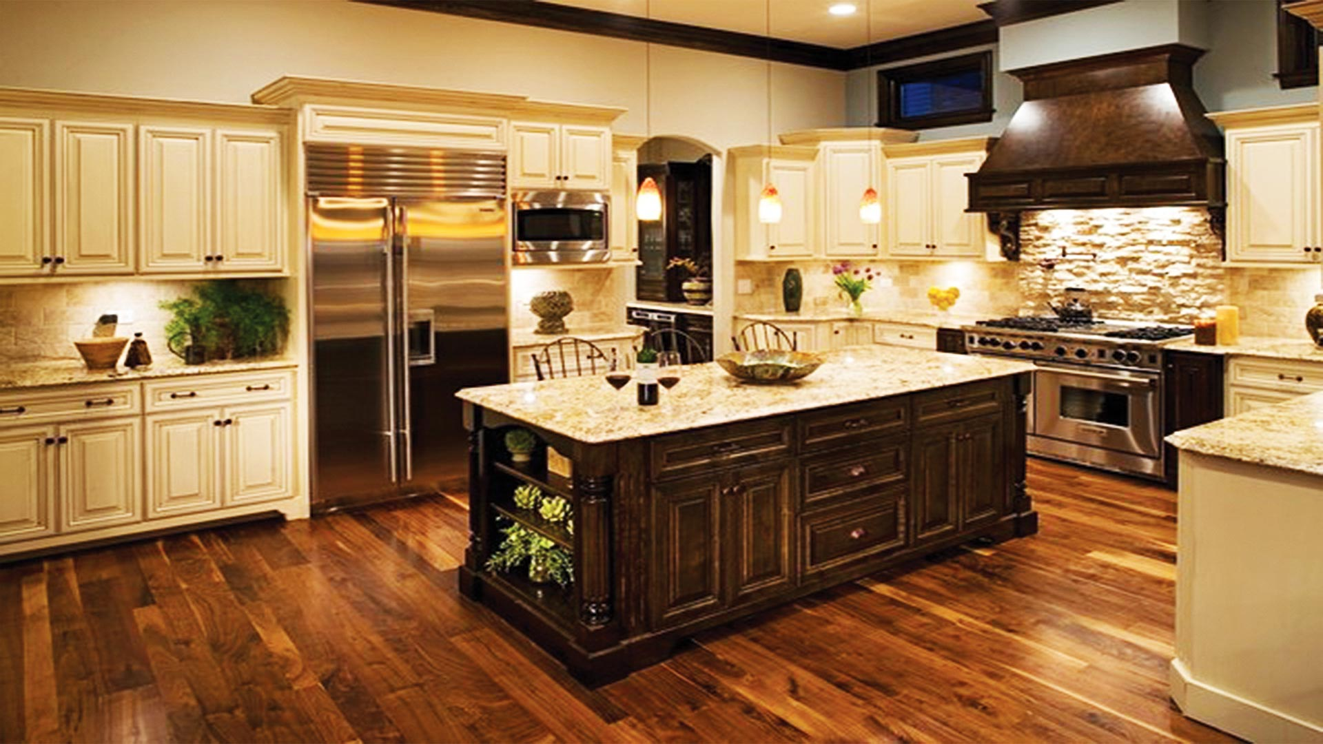 Home deco new flair to your haven defimedia for Traditional home kitchens 2015